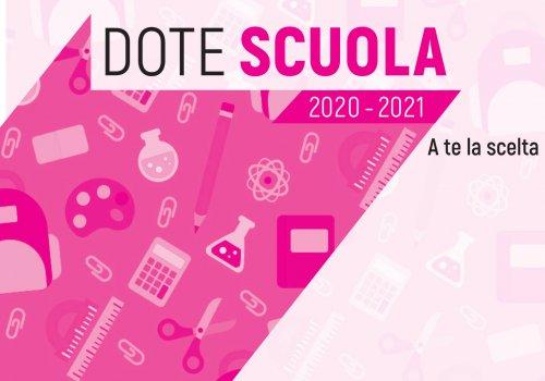 Dote Scuola 2020-2021